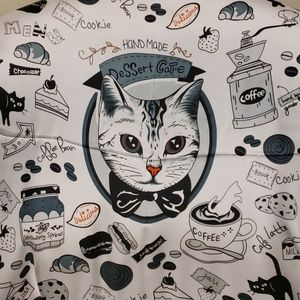 Accessories - 😻 Kitty printed scarf